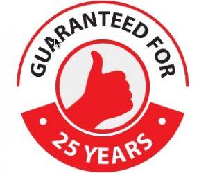 25 year work guarantee