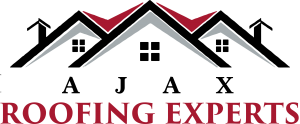ajax roofing experts logo